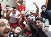 La promozione batte il Carbonia dedicando la settima vittoria al vicecoach