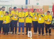 """Giochi Regionali Special Olympics: medaglia d'oro per il gruppo """"Special Team Famiglia Insieme""""."""