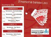 14° Torneo di Natale e 3° Memorial Daniela Lisci: 9,10,16 e 17 Dicembre 2018 a Serramanna