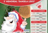 13° Torneo di Natale e 2° Memorial Daniela Lisci: 2 e 3 dicembre 2017 a Serramanna