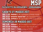 MSP: finali Allievi e Senior il 27 e 28 maggio 2017 a Serramanna
